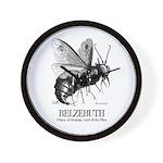 Belzebuth Wall Clock