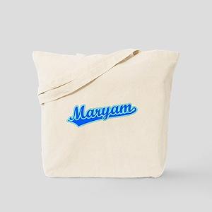 Retro Maryam (Blue) Tote Bag