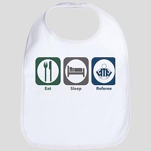 Eat Sleep Referee Bib