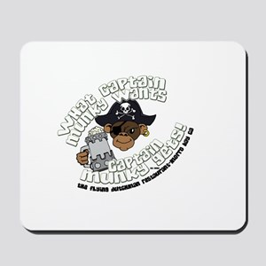 Captain Munky's Mousepad