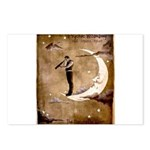 Psychic Wizardry, Man on the Moon Print Postcards