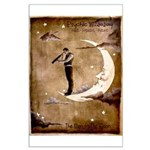 Psychic Wizardry, Man on the Moon Print Poster