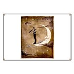 Psychic Wizardry, Man on the Moon Print Banner