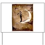 Psychic Wizardry, Man on the Moon Print Yard Sign