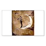 Psychic Wizardry, Man on the Moon Print Sticker