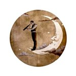 Psychic Wizardry, Man on the Moon Print Button