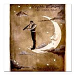 Psychic Wizardry, Man on the Moon Print Square Car