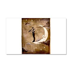 Psychic Wizardry, Man on the Moon Print Car Magnet
