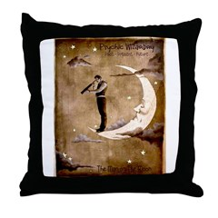 Psychic Wizardry, Man on the Moon Print Throw Pill