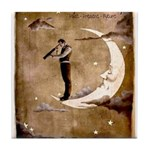 Psychic Wizardry, Man on the Moon Print Tile Coast