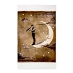 Psychic Wizardry, Man on the Moon Print Area Rug
