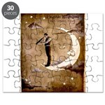 Psychic Wizardry, Man on the Moon Print Puzzle