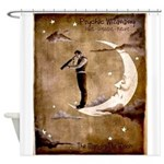 Psychic Wizardry, Man on the Moon Print Shower Cur