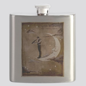 Psychic Wizardry, Man on the Moon Print Flask