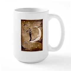 Psychic Wizardry, Man on the Moon Print Mugs