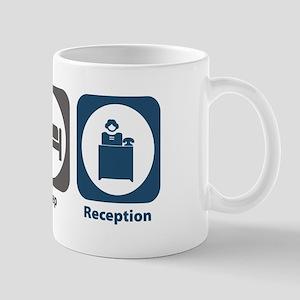 Eat Sleep Reception Mug
