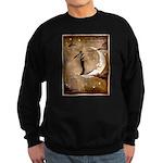 Psychic Wizardry, Man on the Moon Print Sweatshirt