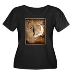 Psychic Wizardry, Man on the Moon Print Plus Size