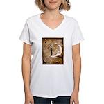 Psychic Wizardry, Man on the Moon Print T-Shirt