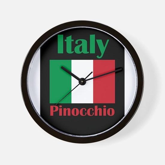 Pinocchio Italy Wall Clock
