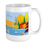 Rainbow Lake Fall 15 oz Ceramic Large Mug