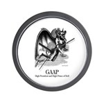 Gaap Wall Clock