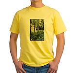 Eel River at Ravencliff Yellow T-Shirt