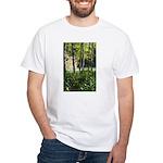 Eel River at Ravencliff White T-Shirt