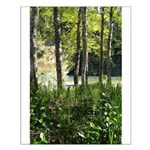 Eel River at Ravencliff Small Poster