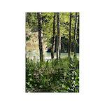 Eel River at Ravencliff Rectangle Magnet (100 pack