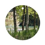 Eel River at Ravencliff Ornament (Round)