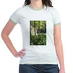 Eel River at Ravencliff Jr. Ringer T-Shirt