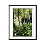 Eel River at Ravencliff Framed Panel Print