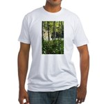 Eel River at Ravencliff Fitted T-Shirt