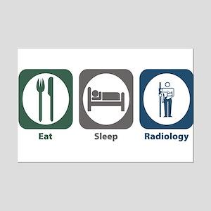 Eat Sleep Radiology Mini Poster Print