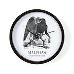 Malphas Wall Clock