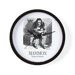 Mammon Wall Clock