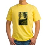 Eel River from the cliff Yellow T-Shirt