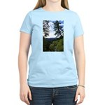 Eel River from the cliff Women's Light T-Shirt