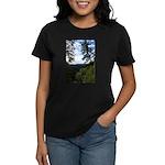 Eel River from the cliff Women's Dark T-Shirt