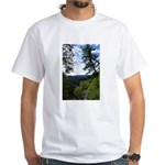 Eel River from the cliff White T-Shirt