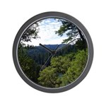 Eel River from the cliff Wall Clock