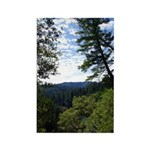 Eel River from the cliff Rectangle Magnet (100 pac