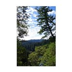 Eel River from the cliff Mini Poster Print