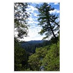 Eel River from the cliff Large Poster