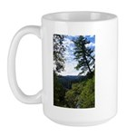 Eel River from the cliff Large Mug