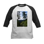 Eel River from the cliff Kids Baseball Jersey