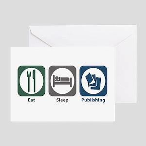 Eat Sleep Publishing Greeting Card