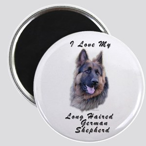 Long Haired German Shepherd Magnet (10 pack)