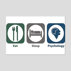 Eat Sleep Psychology Mini Poster Print